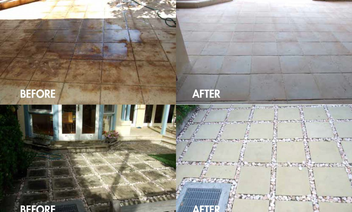 cast stone cleaning and maintenance