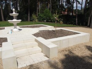 self build cast stone furniture