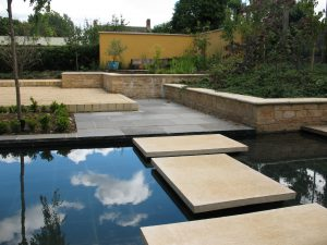 cast stone self build paving and furniture