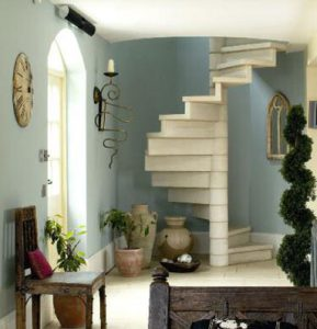 baugh farmhouse staircase