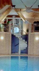 cast stone spiral staircase